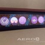 Luminária Réplica Instrumentos de Vôo  |  Decoração, Antiguidades, Militaria