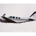 Avião bi-motor Beechcraft Baron 58 – Ano 1975 – 10271 H.T.  |  Bimotor Pistão