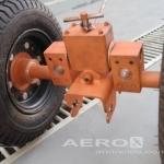 Jogo de rodas de manobra solo para modelo B3, (Ferramentaria para aeronaves) oferta Trator, Garfo, GPU