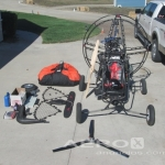 REVOLVER 320 QUAD PARAGLIDER WITH VELOCITY EDGE WING AND ACCESSORIES  |  Paraglider