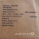 Kit Com 10 Ms9967-010  O-ring Fuel/oil Gland Ms- Avião Peças oferta Peças diversas