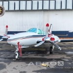 Avião Bimotor Beechcraft Baron 58  oferta Bimotor Pistão