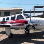 Avião bimotor Hawker Beechcraft Baron G58 – Ano 2006 – 1306 H.T. oferta Bimotor Pistão