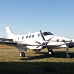 Avião Turbo Hélice Beechcraft King Air C90A – Ano 1990 – 6.535H.T. -  FOB oferta Turbo Hélice
