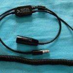 Adaptador para áudio Go pro oferta Headsets