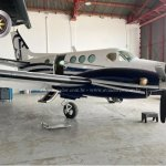 Beechcraft C90 King Air – Ano 1980 – 5830 H.T. oferta Turbo Hélice