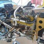 Motor V6 aeronautizado - Verdadeira jóia e potência.  |  Motores