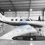PIPER AIRCRAFT MATRIX PA-46R-350T – ANO 2008 – 1370 H.T.     Monomotor Pistão