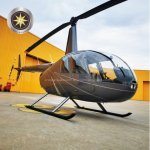 Helicóptero R44 Raven II Robinson – Ano 2010 – 1340 H.T. - Ref: AV5260 oferta Helicóptero Pistão