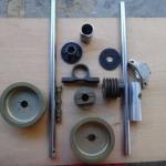 Conjunto de redutora de correias 2x1 para motores Rotax 377,447 e 503 oferta Motores