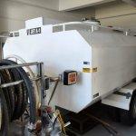 Tanque de combustível sobre rodas JET A1 capacidade 2.000 litros  |  Aeroportos