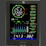 Monitores de motor JPI EDM 4Cil (temos também p/ 6,7,8,9 cilindros) oferta Aviônicos