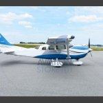 Cessna 206H Stationair – Ano 2006 – 4975 Horas Totais oferta Monomotor Pistão